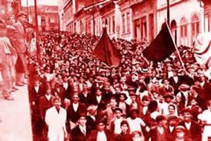 Greve em São Paulo em 1917
