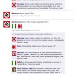 A segunda guerra mundial narrada pelo facebook.